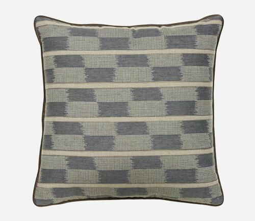 Luxury simple and soft cushion in grey