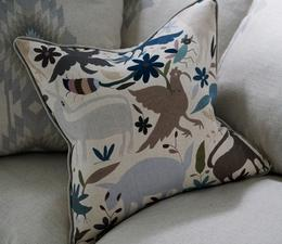 Truman_in_Cruz_Desert_fabric_with_scatter_cushion_in_Tiki_Tiki_Desert_fabric