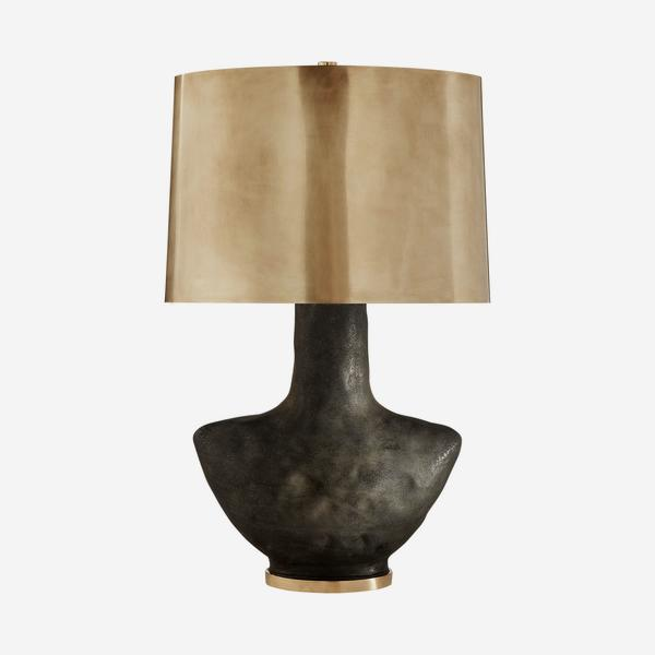 Armato_Table_Lamp_stained_black_burnished_brass