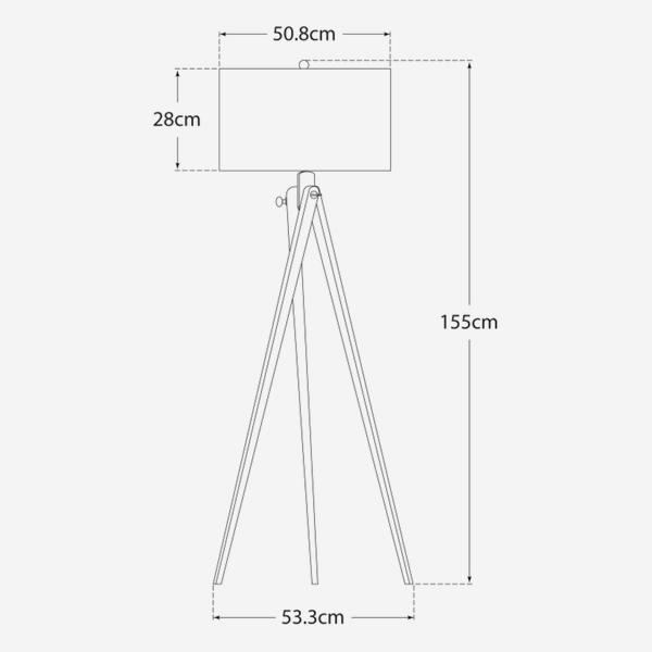 tripod_dimensions