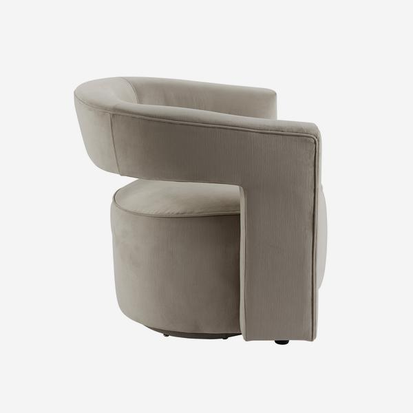 Madison_Swivel_Chair_Dove_Grey_Side