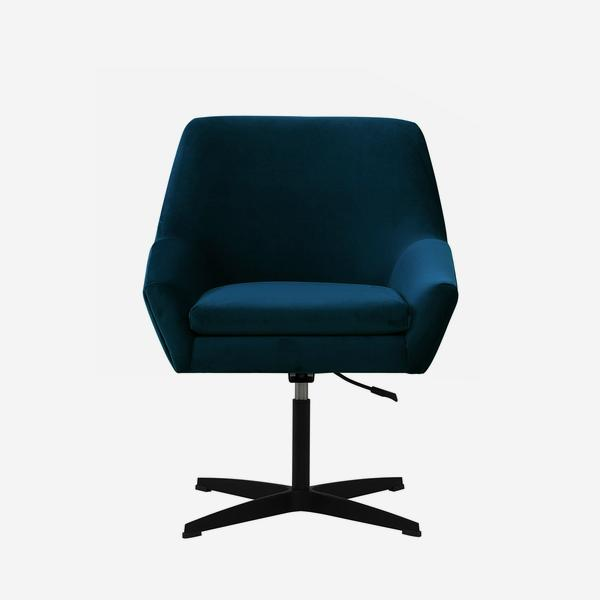 Terence_Desk_Chair_Blue_Front