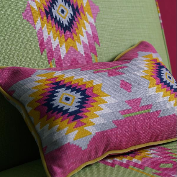 Brompton_single_unit_upholstered_in_Crux_Cactus_with_scatter_cushion_in_Cruz_Paraiso