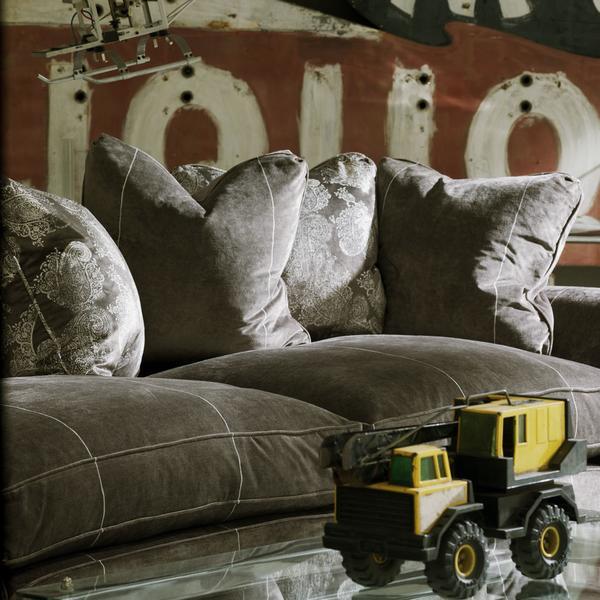 Egerton_Sofa_in_Chalcot_White_Stripe_with_Barnsbury_Grey_Fabric_Cushions