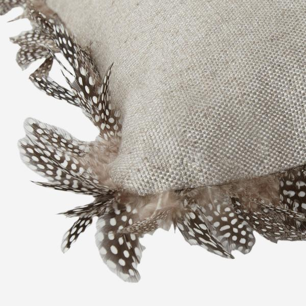 Ossington_Linen_Cushion_with_Guinea_Feathers_Detail_ACC2699_