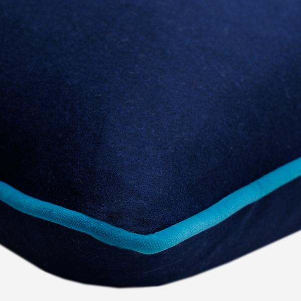 York_Navy_Cushion_with_Pelham_Peacock_Piping_Detail_ACC3075