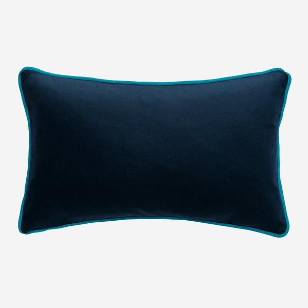 York_Navy_Cushion_with_Pelham_Peacock_Piping_ACC3075