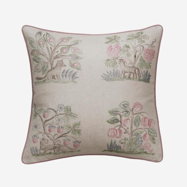 Hedgerow_Cerise_Cushion