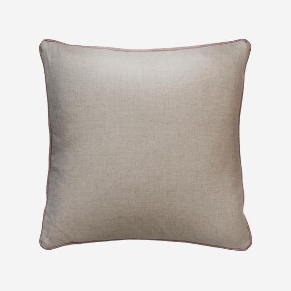 HedgerowPlainLinenPiazettaRoseBackCushion
