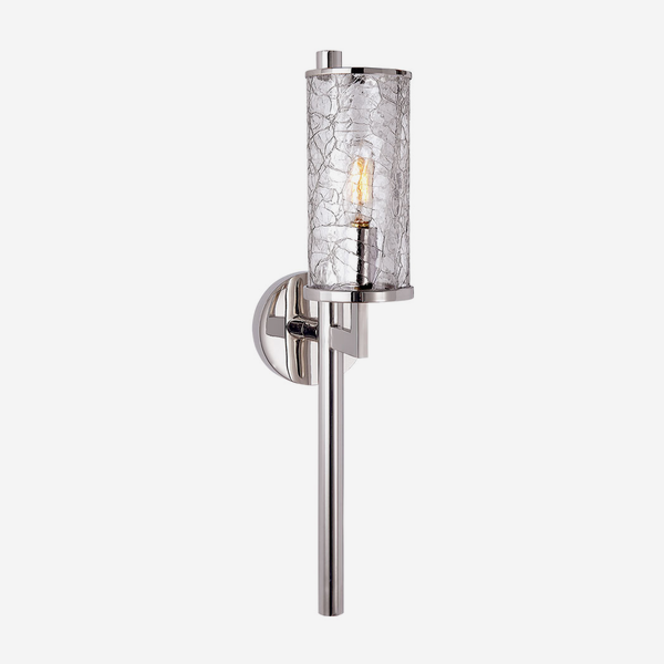 Liaison_Wall_Light_in_Polished_Nickel_with_Crackle_Glass