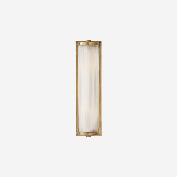 Dresser_Long_Wall_Light_in_Antique_Brass_with_Frosted_Glass_Liner