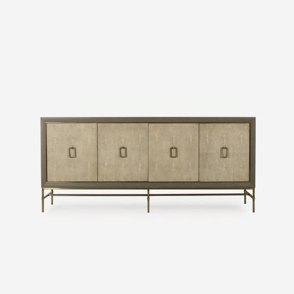 Edith_Sideboard_Ivory_Shagreen_Front